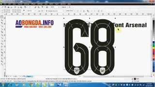 Mẫu font áo bóng đá mùa giải 2015/16 tại aobongda.info