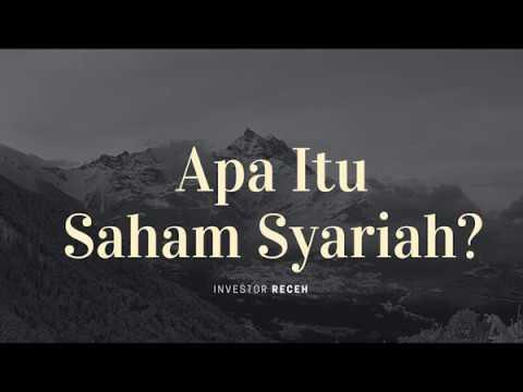 Saham | Apa Itu Saham Syariah? - YouTube