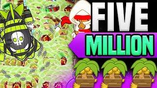 Bloons TD Battles :: 5 million dollars!? WHAT!?