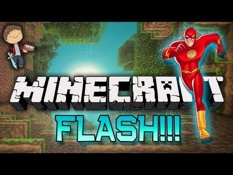 I DON'T COMPLETELY SUCK! Minecraft: FLASH! Parkour Racing w/Mitch & Friends!