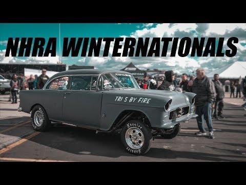 Checking Out The NHRA Winternationals! - Webisode 2 [4K]
