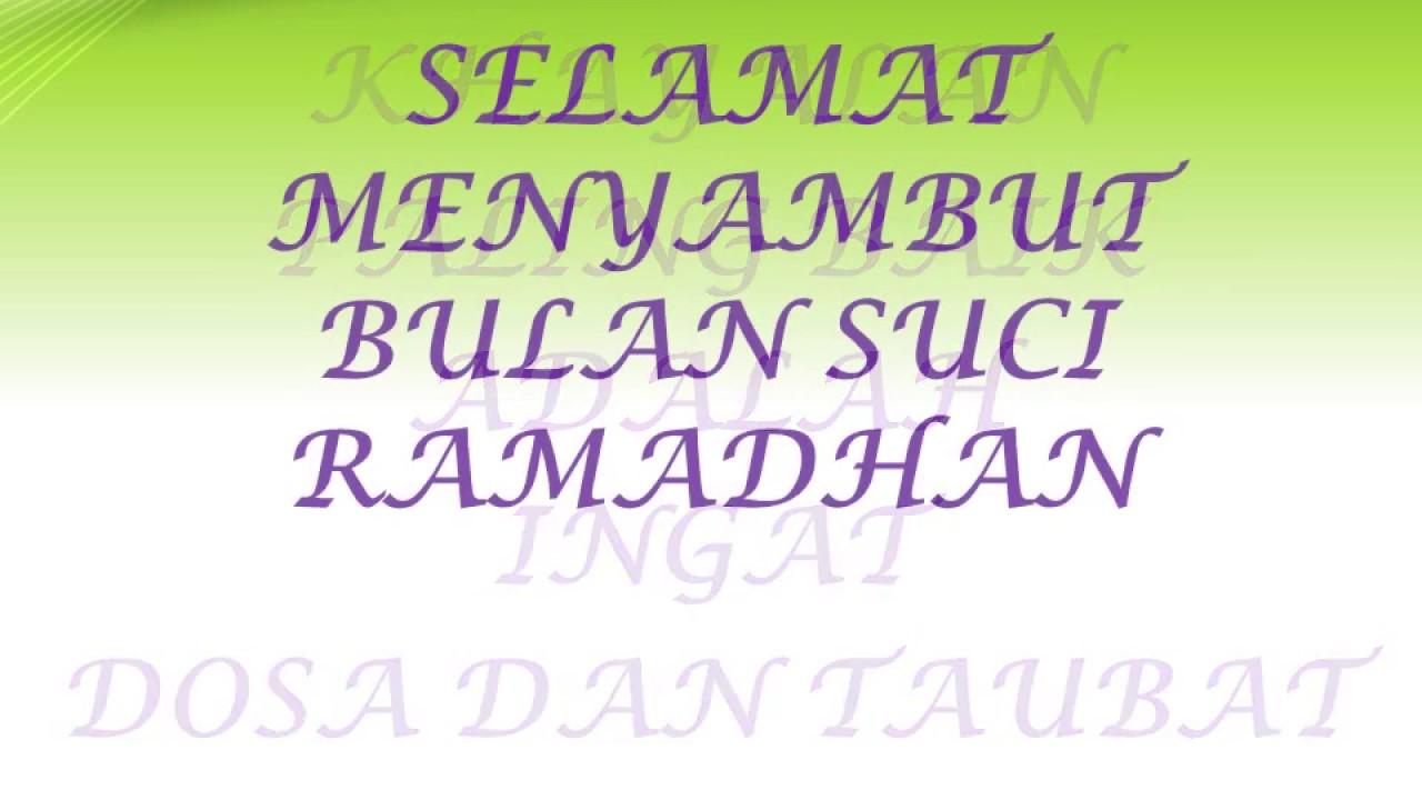 Ucapan Jelang Bulan Puasa Marhaban Ya Ramadhan Kata Kata Mutiara