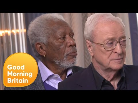 Morgan Freeman and Michael Caine on Their New Film 'Going in Style' | Good Morning Britain