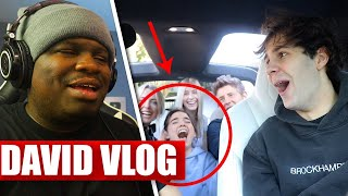David Dobrik CONFESSING HIS LOVE FOR MY ASSISTANT!! - REACTION