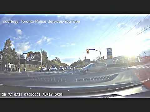 Toronto police release video of pedestrian being struck