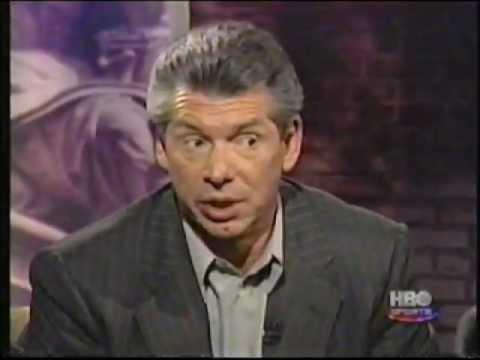 Bob Costas heated Vince McMahon interview pt 3