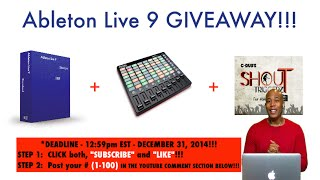 Why Ableton Live 9??? (My # was 35)