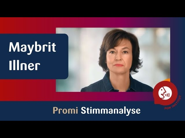 Promi - Stimmanalyse Maybrit Illner