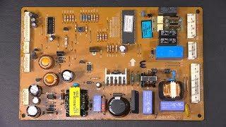 Kenmore LG Fridge Repair Process.