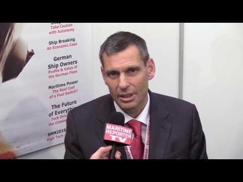 Maritime Reporter TV Interviews Iain White, ExxonMobil