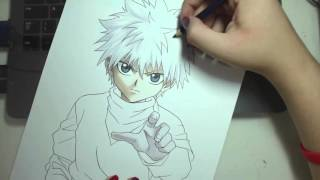 Speed Drawing - Killua Zoldyck (HUNTER X HUNTER)