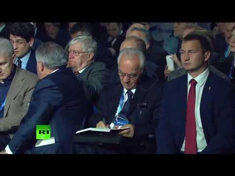 Путин бьёт по 15 ст. конституции РФ!!!
