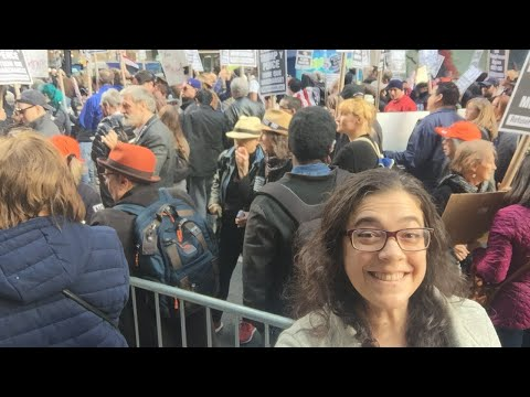 Gines Protests LIVE: #ResistFascism protest NYC 11/4/2017