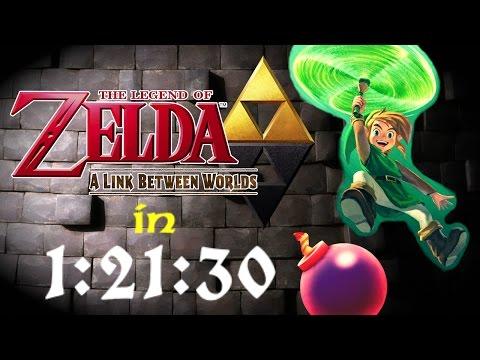 Zelda: A Link Between Worlds - Any% Speedrun (1:21:30)