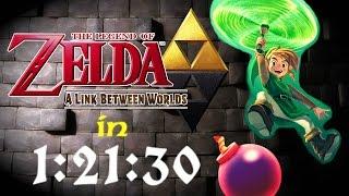 The Legend of Zelda: A Link Between Worlds - Any% Speedrun (1:21:32)