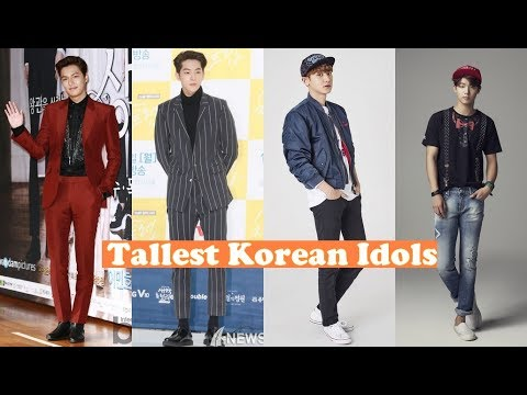 TALLEST KOREAN IDOLS
