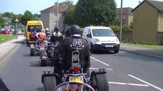 00005   Debs amazing send of vid 5  back to headstocks with Pearce and Leah on trikes