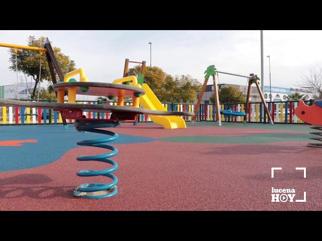 VÍDEO: El ayuntamiento destinó en 2017 más de 50.000 euros a parques infantiles. El de la calle Río Guadajoz fue el último