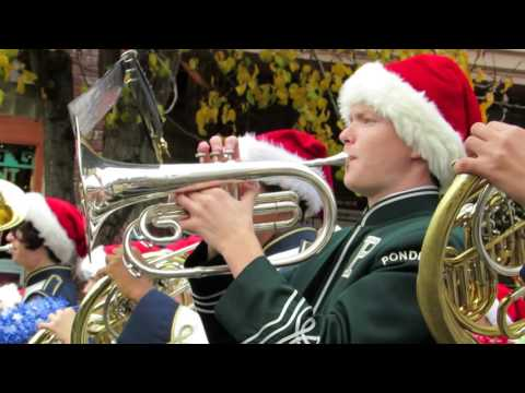 2014 MAIN STREET Placerville Christmas Parade Marching Band
