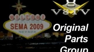SEMA 2009: Original Parts Group-Video
