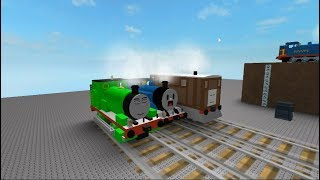 Thomas the train Percy, Toby, Thomas Crashes Roblox Things Will Happen Thomas and Friends
