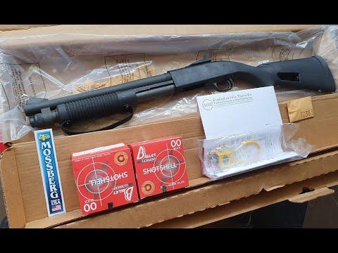 #EP4 #แกะกล่อง #ปืนใหม่ #MOSSBERG #590A1 #ปืนลูกซอง Mossberg 590A1 ขนาด14นิ้ว ลำหนา MeilSpec(กองทัพ)