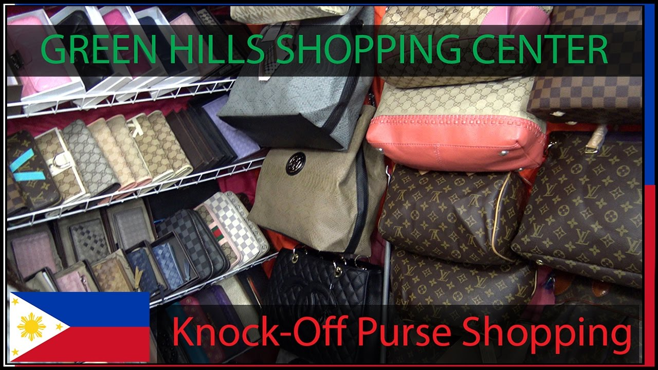 2948e10a1 Green Hills Mall - Knock Off Purse Shopping - YouTube
