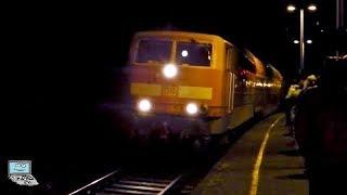 St. Goar [Nächtl. Ausnahmezustand] mit 📣 & Sichtfahrt aller Züge: Pbz, E94, 01-🚂, ICE-T, BKK-Lok,...