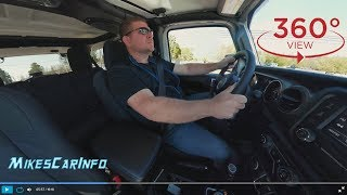 2018 Jeep Wrangler Unlimited - Test Drive Experience - VR 360