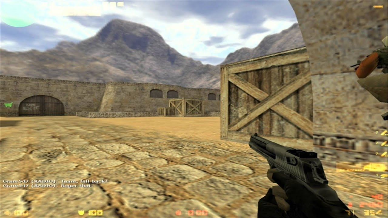 Counter Strike 1.6 Gameplay HD