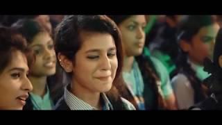 En Kanmani Unna Pakkama-cute- expression-Priya Prakash Varrior-whatsapp-Status