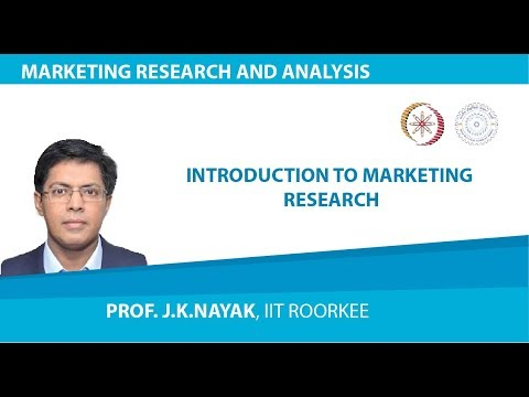 Lecture01- INTRODUCTION TO MARKETING RESEARCH