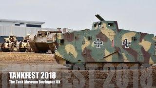 Tankfest 2018 - The Tank Museum, Bovington UK