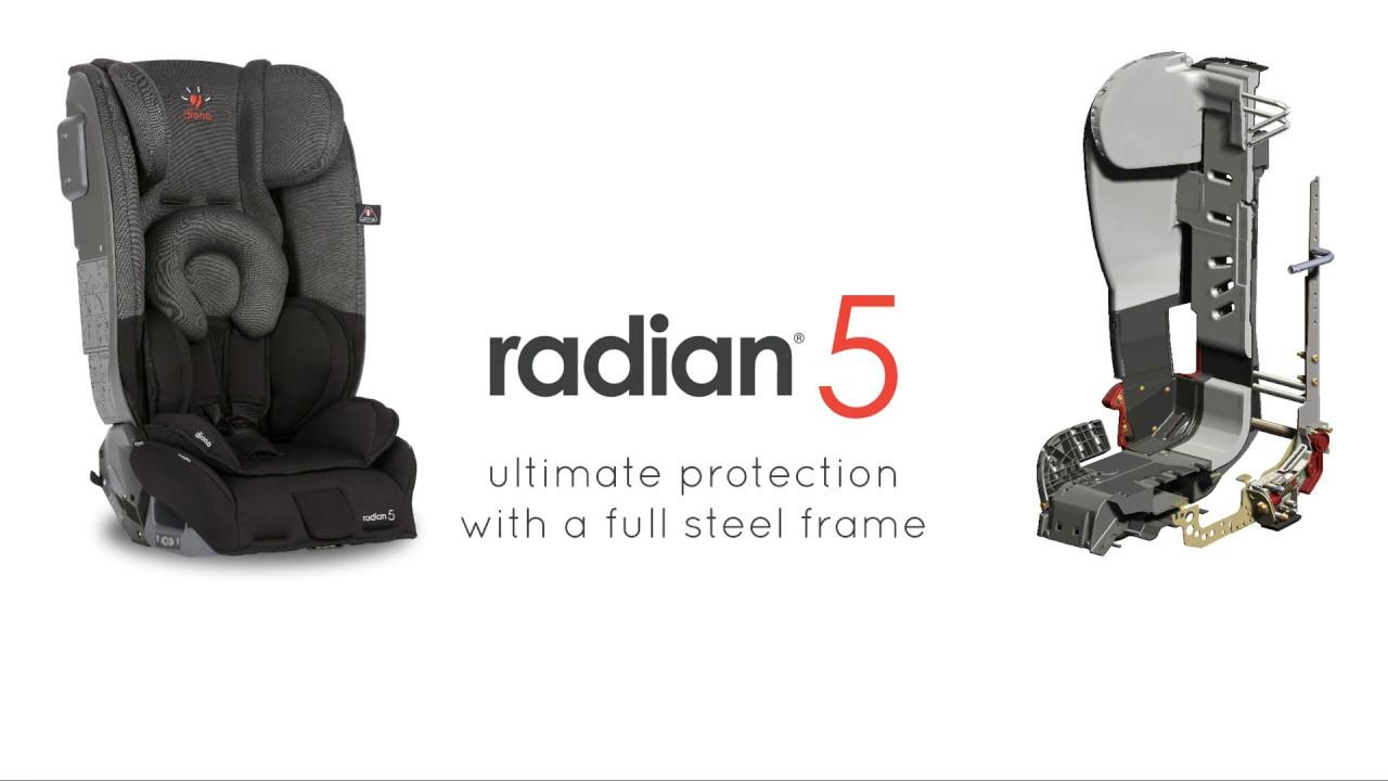 Diono Radian 5 Strength - YouTube
