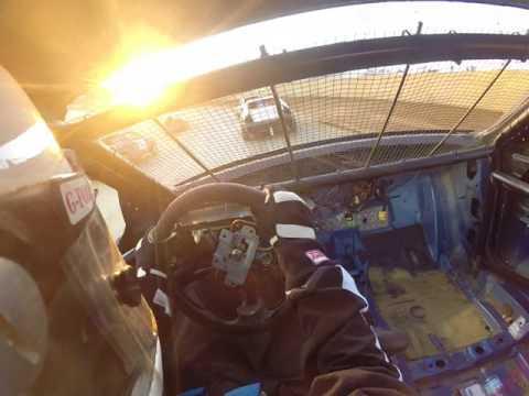 lawrenceburg speedway compact heat race. 7/29/17