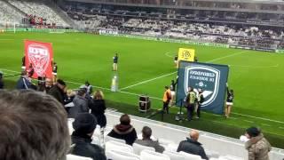 FCGB / Dijon FCO - Entrée des joueurs