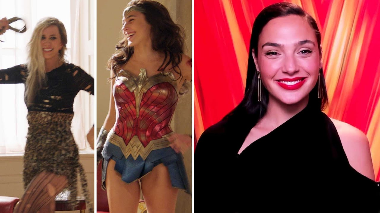 Download Wonder Woman 1984: Gal Gadot on LAUGHING With Kristen Wiig On Set (Exclusive)