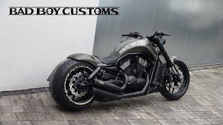 "😈 Harley-Davidson® V-Rod muscle custom ""Red2"" by Bad Boy Customs"