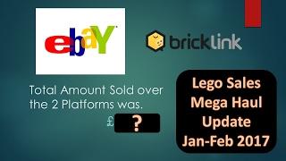 Making money online mega lego haul sales update 1 month on