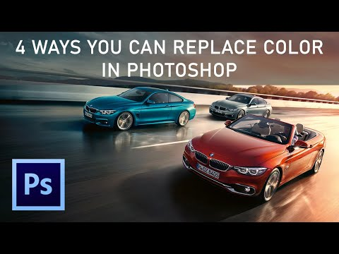 4 Easy Ways You Can Replace Colors In Photoshop