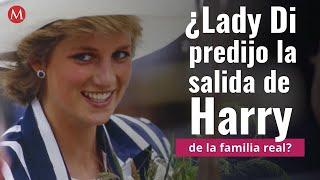 ¿Lady Di predijo la salida de Harry de la familia real?