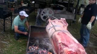 200kg Spit Roast (Whole cow)