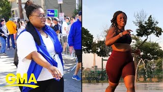 How this woman went from 350 pounds to 4-time marathoner l GMA Digital