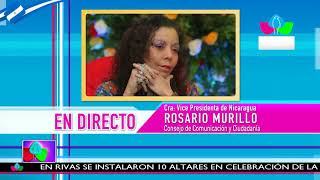 Comunicación con la Vicepresidenta Compañera Rosario Murillo, 07 de Diciembre de 2018