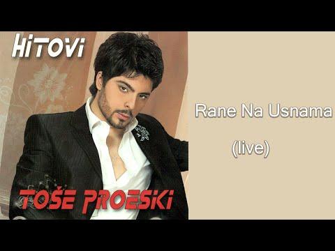 Tose Proeski - Rane na usnama - (LIVE) - (Audio 2008)