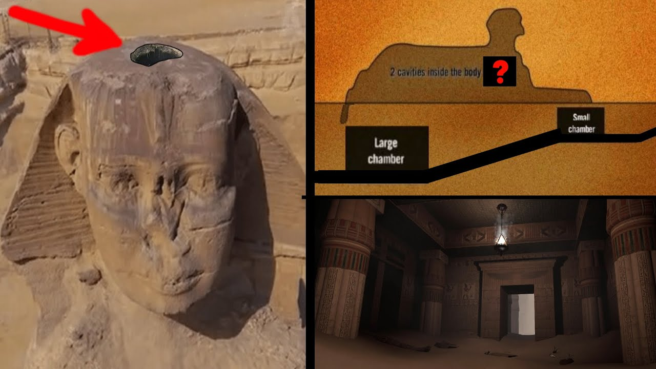Secret Entrances into the Sphinx Leading to The Hall of Records & The Labyrinth