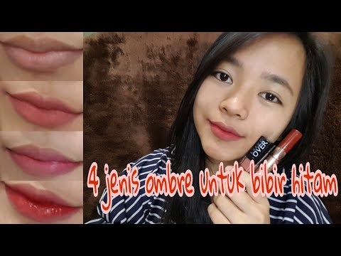 tutorial-ombre-lips-korea-(bibir-hitam)---fresh-natural-look