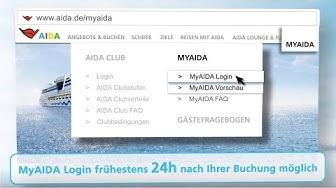 MyAIDA Login ✅ Anleitung zum einloggen mit Buchungsnummer & Passwort