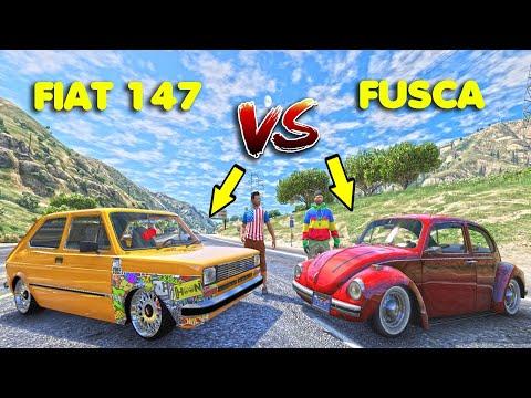 QUAL É MELHOR ?  FIAT 147 VS FUSCA !! #05
