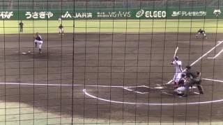 20160608 都市対抗野球中国地区二次予選 JR西日本対山口防府ベースボールクラブ 前半